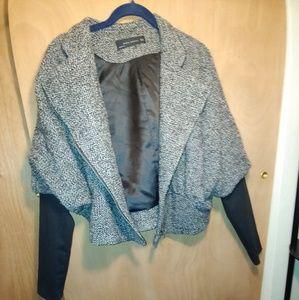 Zara bomber boucle jacket